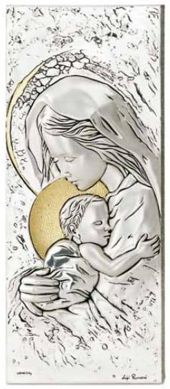 Poważne Srebrny Obraz - Matka Boska z Dzieciątkiem Goldlux24.pl HT32
